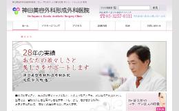 神田美容外科形成外科医院(サイトイメージ)