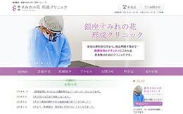 銀座すみれの花形成クリニック(サイトイメージ)